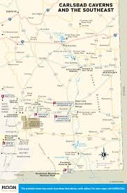 Map Of Carlsbad Ca Printable Travel Maps Of New Mexico Moon Travel Guides