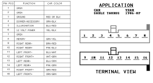 2001 ford mustang stereo wiring diagram 2001 wiring diagrams