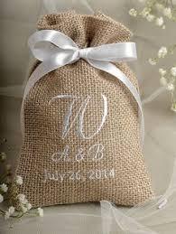 burlap wedding favor bags rustic country burlap and lace wedding favor bags rusticwedding