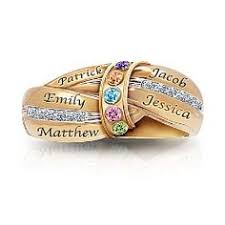 grandmother s ring sterling silver swarovski elements october birthstone stackable