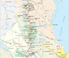 Boston Google Maps by Photos Of Hiking Trail Maps Appalachian Trail Map Click For