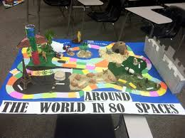 ap world history game board project kids learning students and