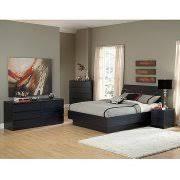 laguna double dresser 5 drawer chest and nightstand set black