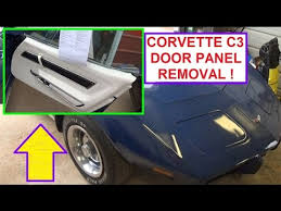 1979 corvette door panels door panel removal on chevrolet corvette c3 generation 1968 1982