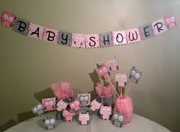 Baby Showers Decorations by Owl Baby Shower Decorations Package Owl Baby Shower Pink