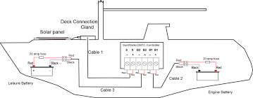 dual marinery wiring diagram voltage sensitive relay for boat perko