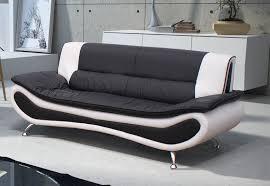 cdiscount canapé lit canapé convertible noir et blanc cdiscount canapé idées de