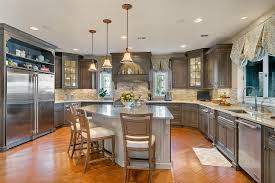 By Design Kitchens Driftwood With Glaze Large Kitchen Point Pleasant New Jersey By