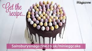 Sainsbury S Easter Decorations by Mini Egg Easter Cake On Vimeo