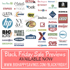 black friday sales previews now available big happy savings
