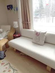 Ikea Slipcovers Custom Customer Photo Comfort Works Custom Allerum Sofa Bed Cover In