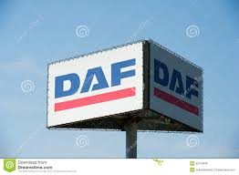 paccar trucks daf sign editorial photo image 42163636