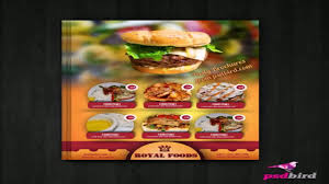 restaurant menu board templates youtube