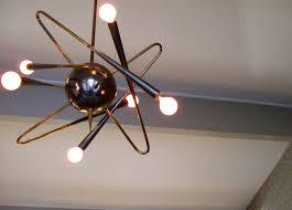 Atomic Lighting Beautiful Atomic Lighting Molecule Light 1950s Atomic Light