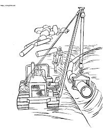 construction truck coloring pages for toddler printable of