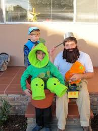 Pea Halloween Costume Plants Zombies Costumes 7 Steps Pictures