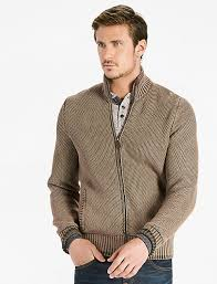 mens zip sweater lucky brand