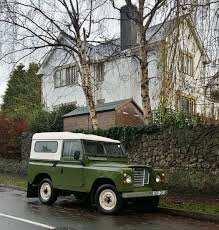 green station wagon land rover snaps on twitter