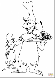 superb dr seuss cat in the hat coloring pages with dr suess