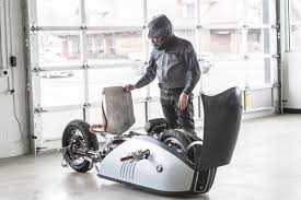 custom white bmw the custom bmw alpha motorcycle was inspired by the great white