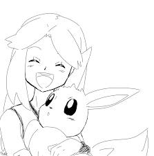 pokemon coloring pages eevee pokemon coloring pages eevee pokemon
