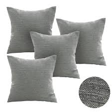 Cushion Covers Without Zips Amazon Com Deconovo Soft Cushion Covers For Sofa Pillow Covers