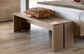 banc pour chambre à coucher meuble pied de lit intérieur intérieur minimaliste