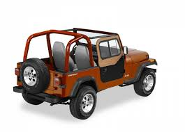 jeep wrangler 88 bestop door sliders factory top for 88 95 wrangler yj spice