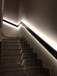corrimano luminoso corrimano in ferro con inserimento led corrimano