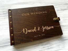 custom wedding album wedding photo album wood photo album personalized photo album