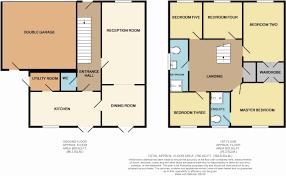 Five Bedroom Floor Plan 5 Bedroom Detached House For Sale In Camborne Drive Darlington Dl3