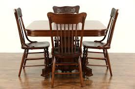 Antique Mahogany Dining Room Set Sold Victorian Eastlake 1885 Antique Mahogany Dining Table 6