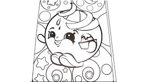 let u0027s color 2 shopkins juicy orange coloring page time lapse
