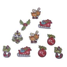 christmas craft buttons promotion shop for promotional christmas
