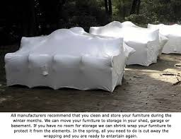 Shrink Wrap Patio Furniture Outdoor Kitchen Protection Outdoor Furniture Protection