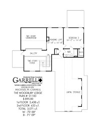 Luxury Mountain Home Floor Plans by Woodbury Lodge House Plan Craftsman House Plans