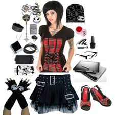 fashion of nightmare before polyvore