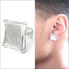 big diamond earrings square diamond earrings diamond stud earrings square big