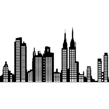 new york city skyline at night drawing u2013 images free download