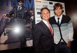 photos of ashton kutcher celebrating his gotham magazine cover and