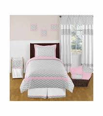 Gray Chevron Bedding Pink And Grey Chevron Bedding Beautiful Pink Decoration