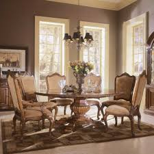 Antique Round Dining Table And Chairs Home And Furniture Furniture U0026 Accessories How To Decorate A Round Dining Table