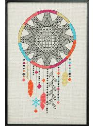 counted cross stitch patterns blackwork dreamcatcher cross