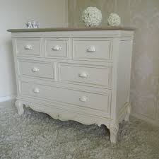Cream Bedroom Furniture Large Cream Chest Of Drawers French Vintage Shabby Bedroom