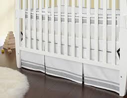 Pottery Barn Ruffle Crib Skirt Amazon Com Just Born Crib Skirt Grey Baby