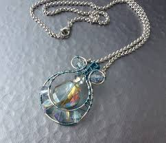 steel necklace wire images Stainless steel wire wrapped jewelry inspirations the beading jpg
