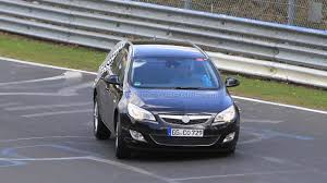 opel germany 2011 opel astra sports tourer spy photos nurburgring nordschleife