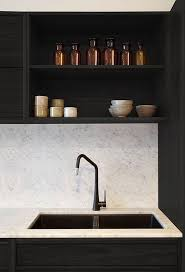 black faucet kitchen must see now trending in cool faucet finishes black is
