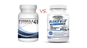 rexavar versus formula 41 extreme supplement comparison best