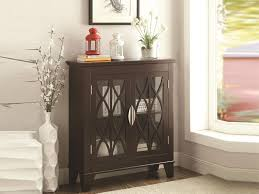 Accent Cabinets Accent Cabinet With Glass Doors American Online Deals